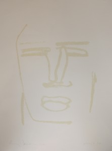 """Beatus Vir""    l.50 x h.70 cm    2000 Serigrafia    2/XX"