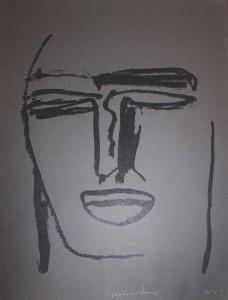 """""""Beatus Vir""""    l.50 x h.70 cm    2000 Serigrafia    24/34"""