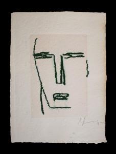 """""""Beatus Vir""""    l.26 x h.36 cm    2003    Pastello a cera su carta"""