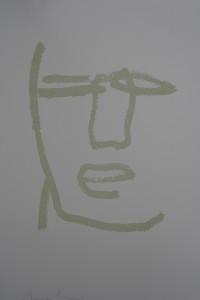 "I""Beatus Vir""    l.50 x h.70 cm    2000    Serigrafia su carta    I/32"